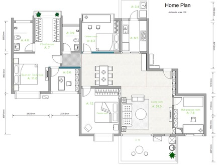 3 bedroom house plans simple house plans house for Build your own house blueprints