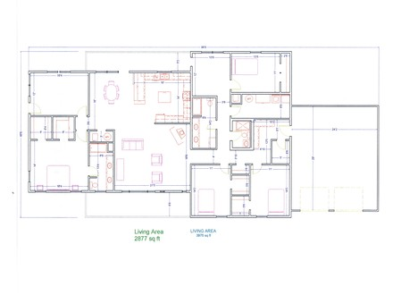 House Plans Blueprint In-House Electrical Plan Blueprints
