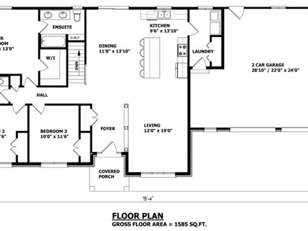 845481d0034446ed Modern Bungalow House Plans Raised Bungalow House Plans Canada on french country house plans designs