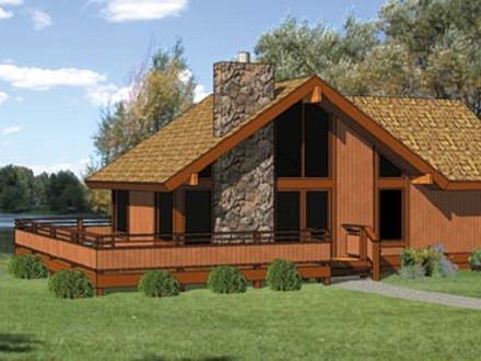 Hunting Cabin House Plans Small House Plans with Loft