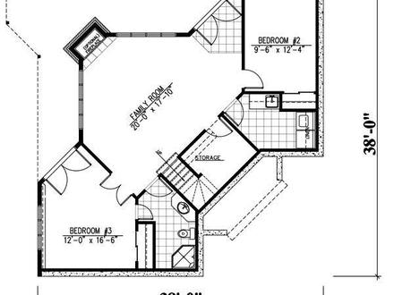 Rustic house plans with open concept rustic house plans for Waterfront floor plans