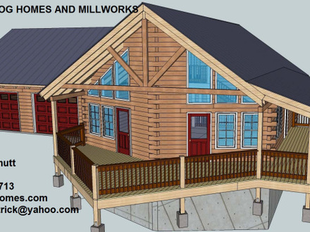 Ranch Floor Plans Log Homes Log Home Floor Plans With