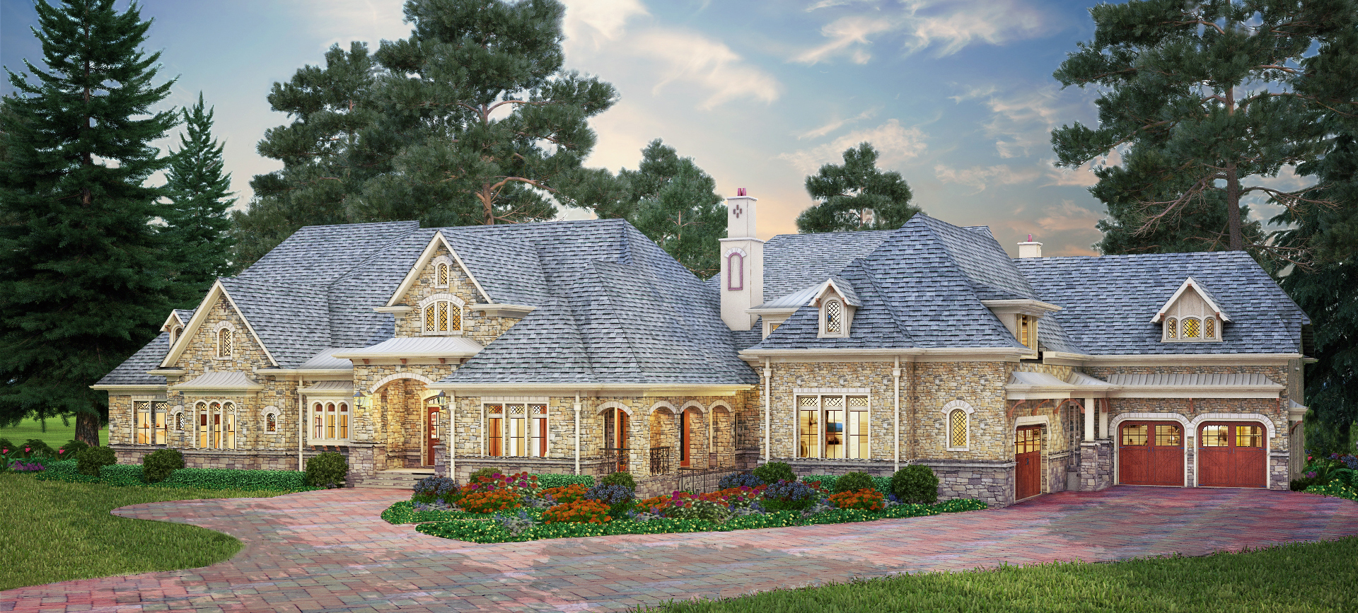 Luxury architectural house design plans architectural for New house plans canada