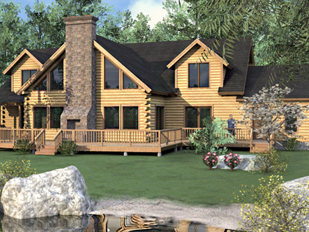 Luxury Log Homes Colorado 4 Bedroom Log Home Floor Plans