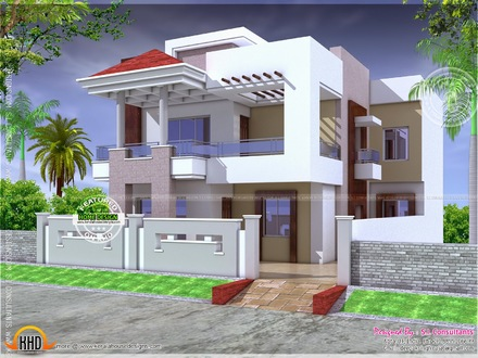 Modern One Story House Plans Small Modern House Plans Indian