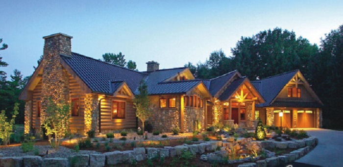 Modest Log Homes Best Log Home Modern House Plans