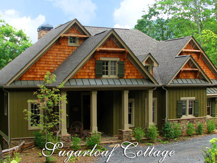 Mountain House Plans with Porches Mountain Cottage House Plans