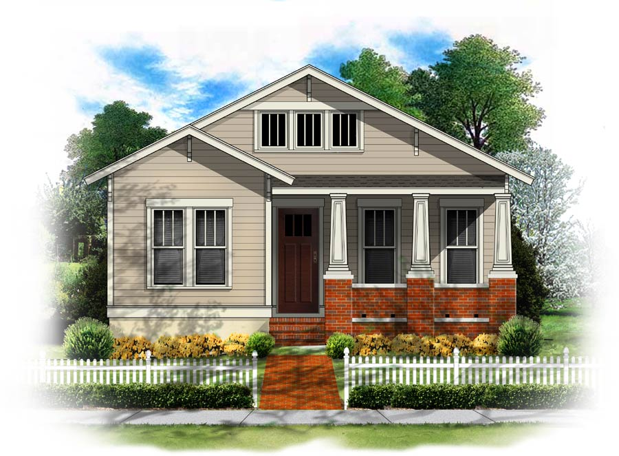 Plan new urban classics collection house plan id chapman for Id home design