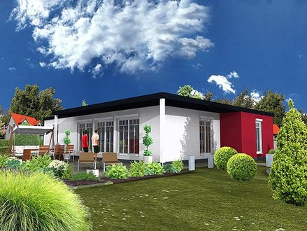 Prefabricated Bungalow Homes Manufactured Homes Bungalow