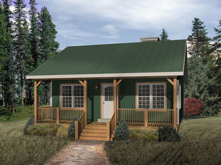 One story cabin floor plans large one story log homes 2 for Planos de casas pequenas