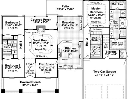 Robinson Bungalow House Plans Bungalow House Floor Plans
