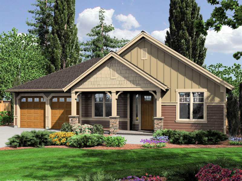 Rustic Craftsman Style House Plans Craftsman Mountain