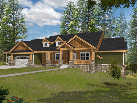Rustic Ranch Style Home Plans South West Style Homes Ranch