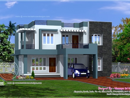 Simple Home Modern House Designs Pictures Small Modern House