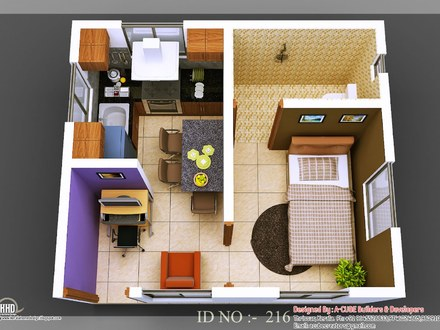 Simple Small House Design 3D Small House Design