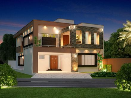 Single Front Elevation House Photo Gallery Front House Elevation Design