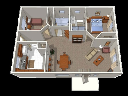 Small Bungalow House Plans UK Bungalow Floor Plans
