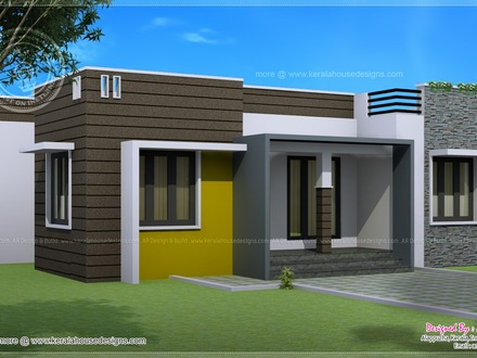 Small Home Floor Plans Under 1000 Square Foot Modern House Plans 1000 Sq FT
