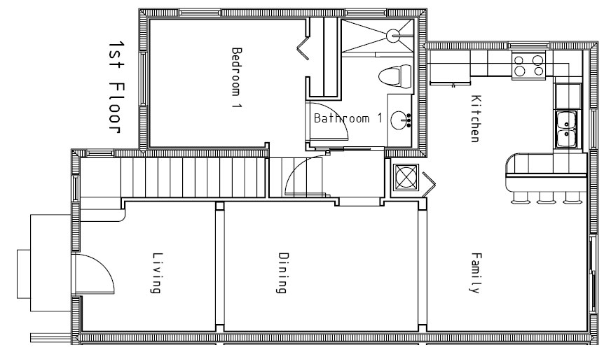 Small House Floor Plan Very Small House Plans Small Plans