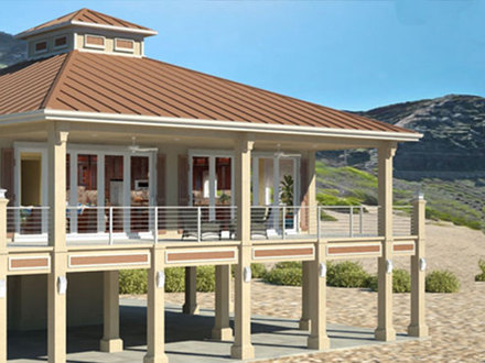 Small House Plans Under 1000 Sq FT Small Beach House Plans