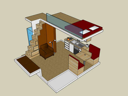 Small House Plans with Loft Small House Plans with Open Floor Plan