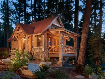 Small Log Cabins and Cottages Small Log Cabin Floor Plans