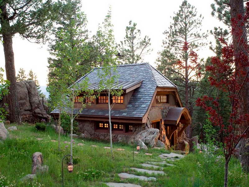 Small Rustic Cabin Home Plans Small Cabin Living