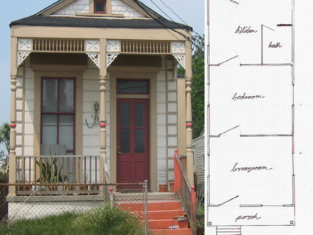 Small Shotgun House Plans Creole Shotgun House Plans