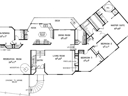 Split Level Home Interiors Split Level Home Floor Plans