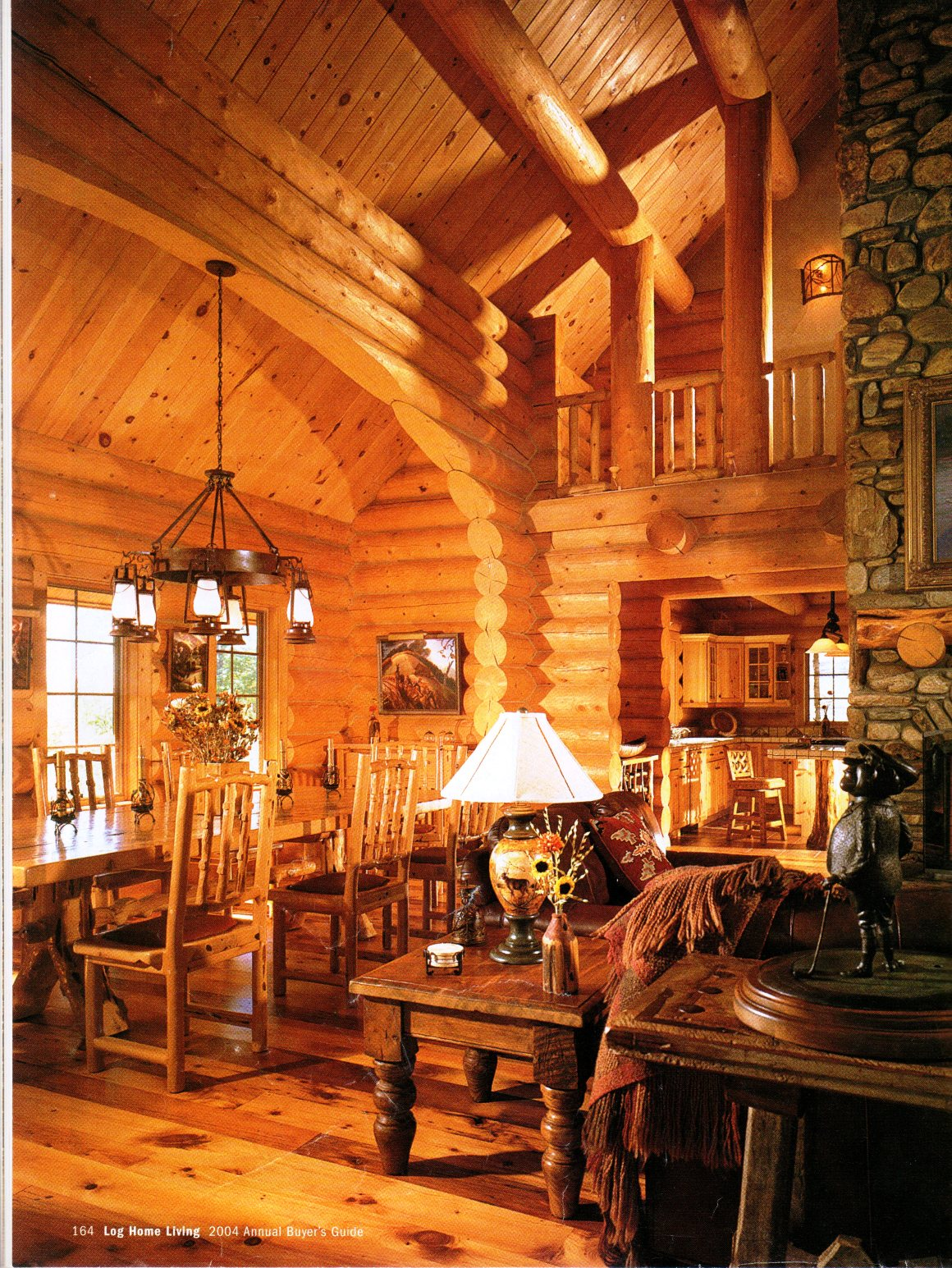Timber home living magazine log home living magazine log for Home living magazines
