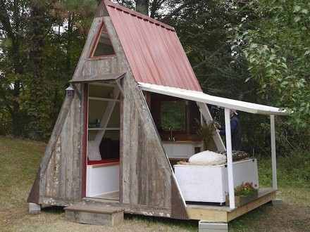 Tiny a Frame Cabin Plans Mini a Frame Cabins