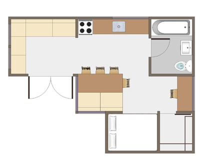 Tiny House On Wheels Tiny House Floor Plans
