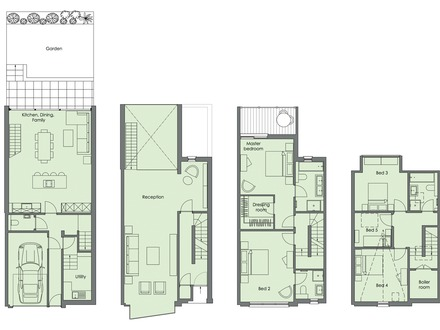 Townhouse Designs and Plans Modern Townhouse Designs