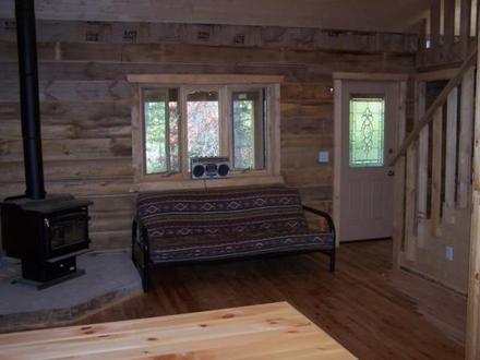 Small hunting cabins you build build your own cabin for Remote cabin plans