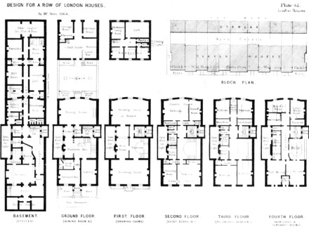 Victorian London Townhouse Floor Plan Victorian Houses London