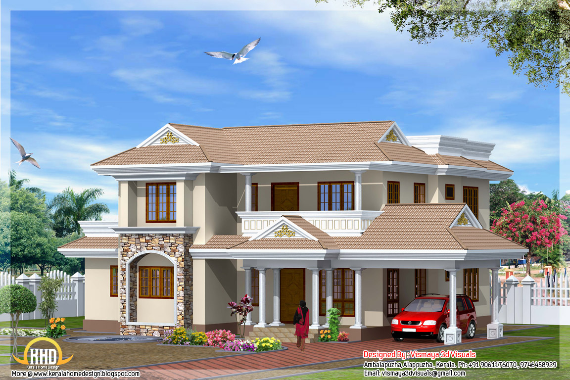 View front house designs indian style house design house for Front view house plans