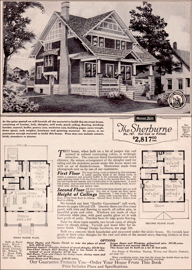 Vintage craftsman bungalow house plans sears craftsman Sip house plans craftsman