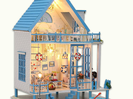 Wooden Barbie House Big Wood Doll House
