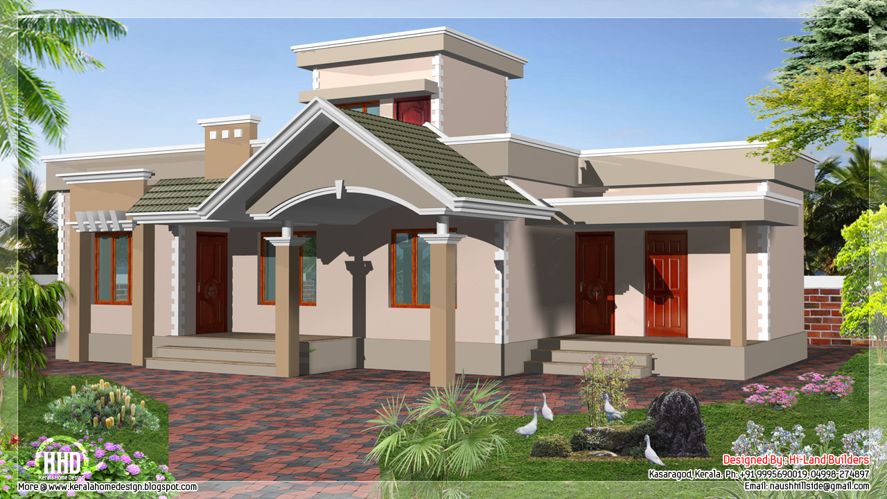 1 floor house designs beautiful house plans designs one for Beautiful floor designs