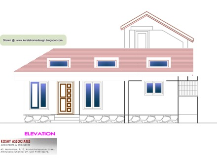 1000 Sq Ft House Floor Plans 1000 Sq Ft. House with Kitchen