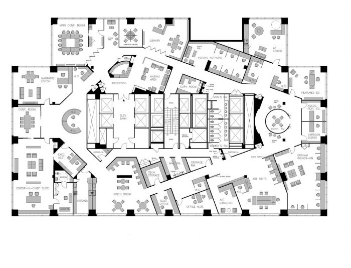 12000 sq ft floor plans square inch 12000 sq ft house for Office design publications