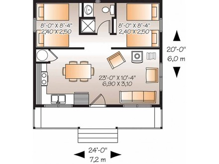 2 Bedroom House Plans House Plans 2 Bedroom Flat