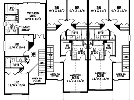 2 Bedroom Split Level House Plans Split-Level House Plans