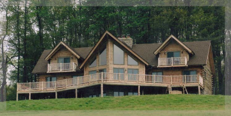 2 story log cabin homes 2 story log cabin floor plans two for Two story log cabin kits