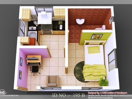 3D Small House Design Beautiful Small House Design