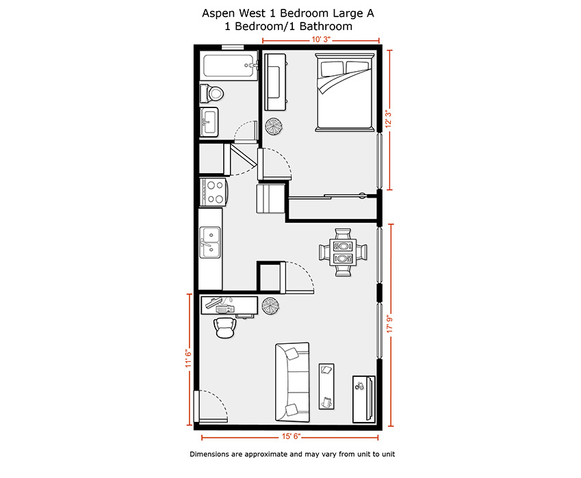 600 sq ft apartment floor plan 333 sq ft studio apartment for 600 sq ft apartment floor plan