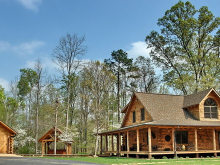 Rustic cabins in virginia mountains rustic log cabin home for Affordable log home plans