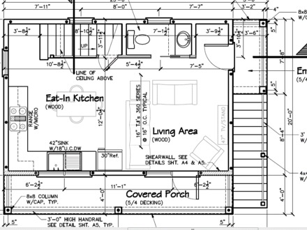 Sugar shack building plans building a simple sugar shack for Armstrong homes floor plans