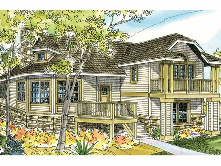 Beach Cottage House Plans On Pilings Small Beach House Plans
