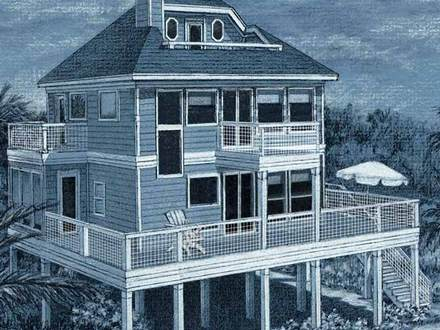 Beach House Floor Plan Beach Cottage House Plans
